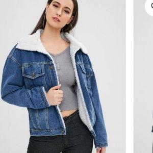 Oversized Jean jacket